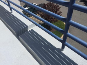 Balcony Railing Post Repair in New Jersey