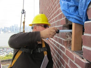 Brick Spalling Repair