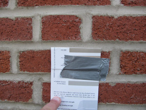 Waterproofing Brick Walls