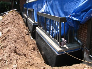 Below Grade Waterproofing by Adriatic Restoration in New Jersey