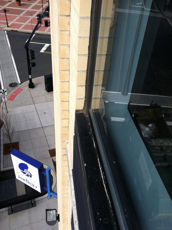 Commercial exterior window caulking adriatic restoration - Commercial grade exterior caulking ...