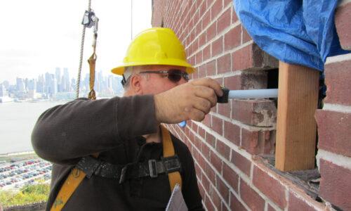 Brick Spalling Repair